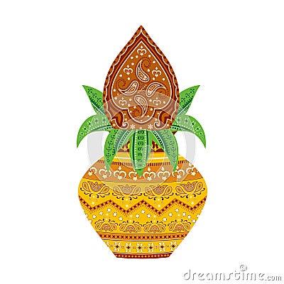 Free Mangal Kalash Royalty Free Stock Images - 41900949