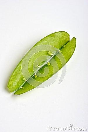 mangetout, also known as sugarsnap pea