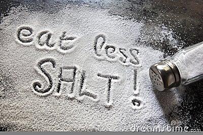 Mangez moins de sel