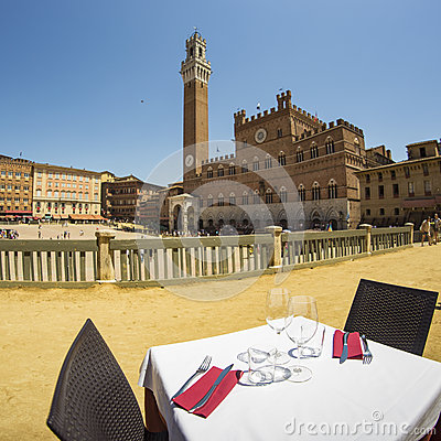 Free Mangia Tower Royalty Free Stock Images - 74202919