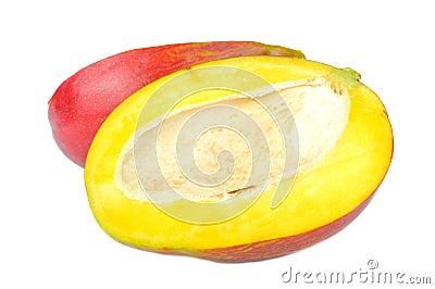 Mango Cut in Half
