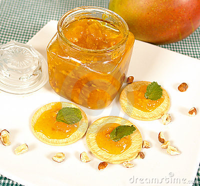 Free Mango Marmalade Stock Image - 4470351