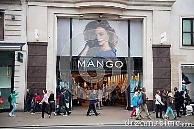 International clothing stores