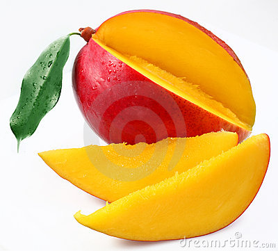 Free Mango With Sections Stock Images - 11761934