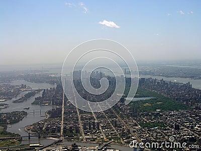 Manhattan Aeroview