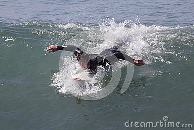 Manhattan Beach Surfing Editorial Photography