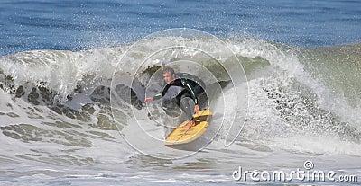 Manhattan Beach Surfing Editorial Photography