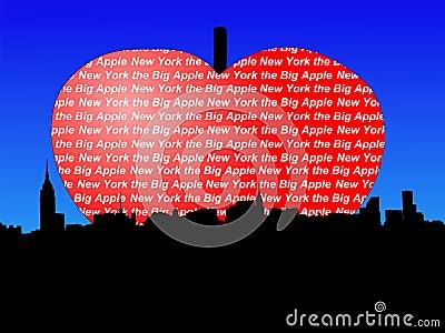 Manhattan big Apple