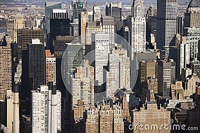 Manhattan buildings, New York.