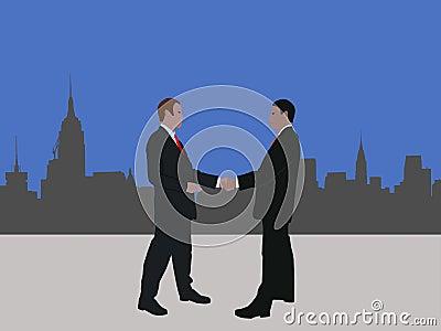 Manhattan business meeting