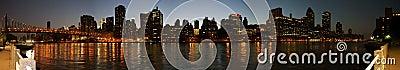 Manhattan eastside panoramic