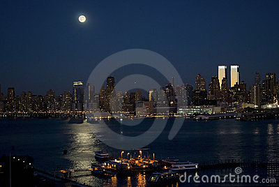 Manhattan Moonlight