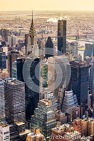 Free Manhattan, New York City. USA. Royalty Free Stock Image - 36836456