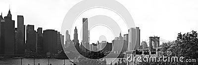Manhattan NYC Skyline Panorama