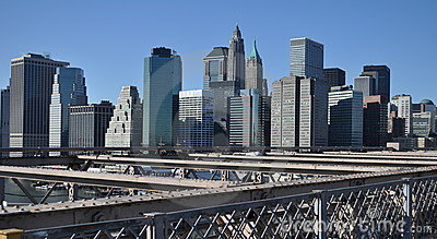 Manhattan Skyline Stock Image - Image: 12528071