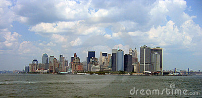 Manhattan from Staten Island