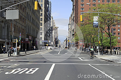 Manhattan street Editorial Stock Photo