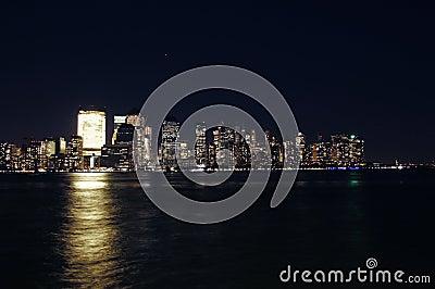 Manhattan view from Jersey city