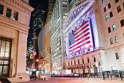 Manhattan Wall Street New York Stock Exchange