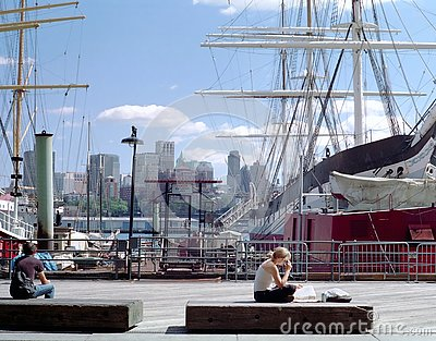 Manhattan Waterfront New York