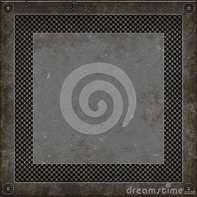Manhole cover (Seamless texture)