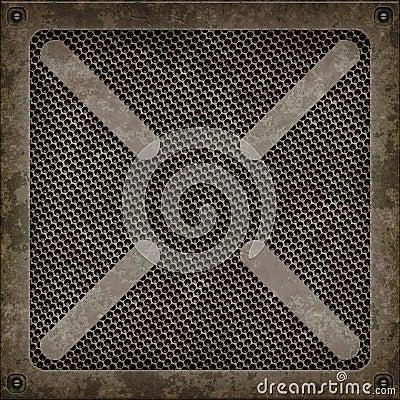 Manhole cover (Seamless texture)