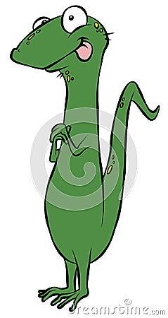 Maniacal Lizard