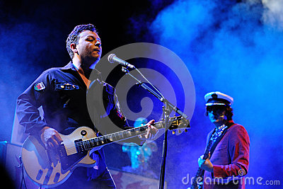 Manic Street Preachers band performs at Barcelona Editorial Photography