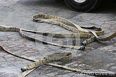 Manichette antincendio fotografia stock immagine 5285020 for Manichette per irrigazione prezzi