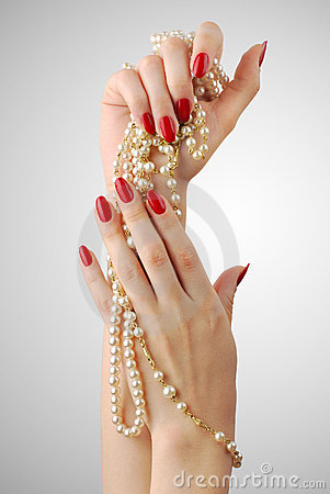 Free Manicure Royalty Free Stock Photography - 19840527