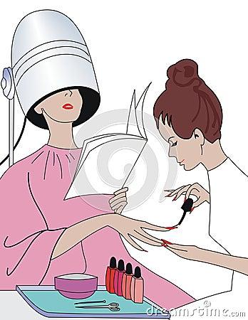 Free Manicure Stock Image - 510621