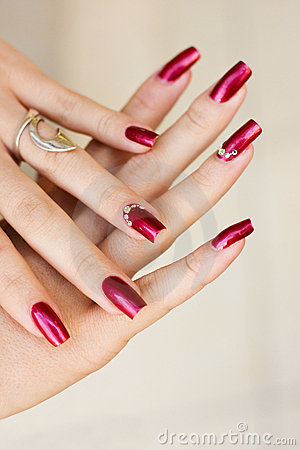 Free Manicure Royalty Free Stock Images - 9694079