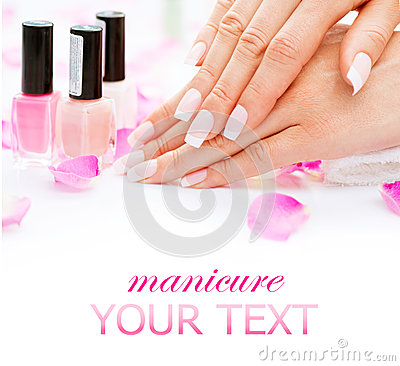 Free Manicure And Hands Spa Royalty Free Stock Image - 43181026
