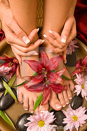 Free Manicure And Pedicure Royalty Free Stock Photo - 11082345