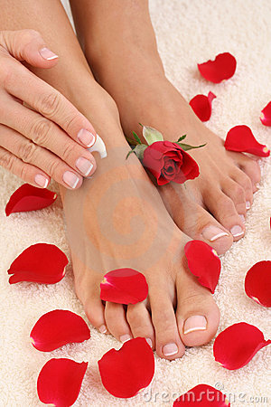 Free Manicure And Pedicure Stock Image - 4598831