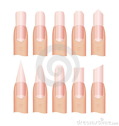 Manicure Nail shape
