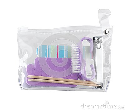 Manicure set bag