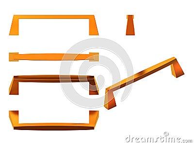 Manija para los muebles stock de ilustraci n imagen for Stock de muebles