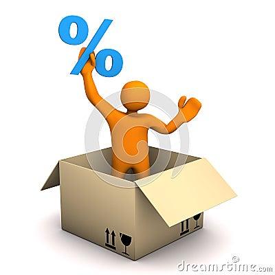 Manikin Parcel Percent