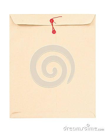 Free Manila Envelope With String Royalty Free Stock Photo - 5200815