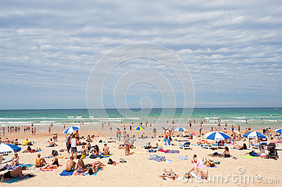 Manly Beach, Australia Editorial Stock Photo