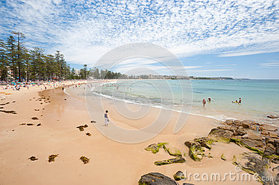 Manly Beach, Australia Editorial Photography