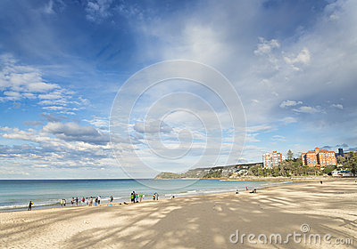 Manly beach in sydney australia Editorial Image