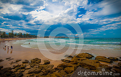 Manly beach, Sydney, NSW, Australia