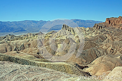 Manly Beacon in Zabriskie Point