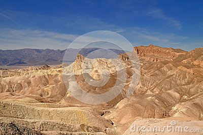 Manly beacon at Zabriskie point