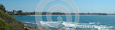 Manly coastline