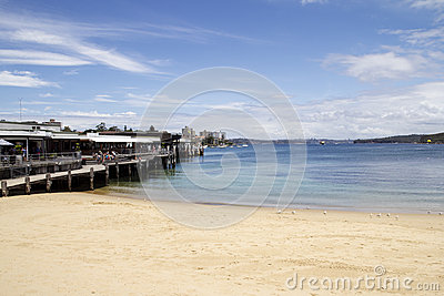 Manly Cove Editorial Photo