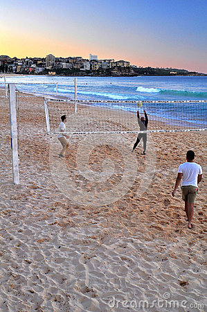 Manly Volley Editorial Stock Photo