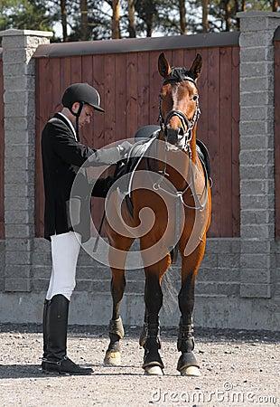 Mann und Pferd